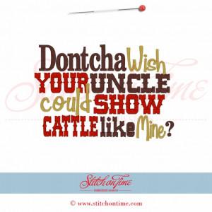 Favorite Uncle Sayings