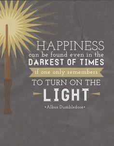 Harry Potter Quotes Dumbledore Light (1)