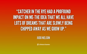 Teen depression in the catcher in the rye by jd salinger