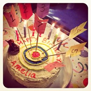 birthday cake. #archery Birthday Parties, Disney Brave, Brave Birthday ...