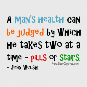 health quotes, funny health quote of the day