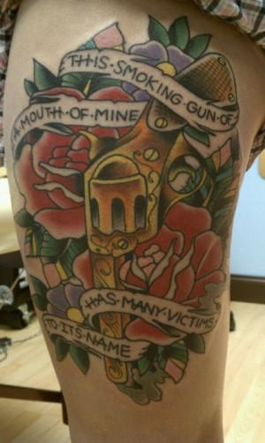 law enforcement tattoo designs