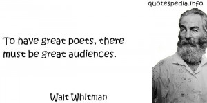 reflections aphorisms - Quotes About Poetry - To have great poets ...
