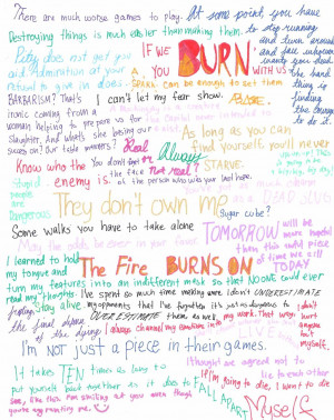 Hunger Games Quotes by Keeta-x-Tribias