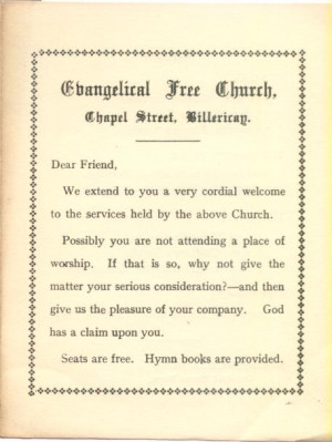 Free Church Founded 1906