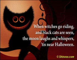 ... Seen.The Moon Laughs and Whispers Tis Near Halloween ~ Halloween Quote