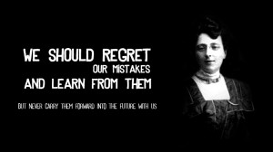 Lucy Maud Montgomery on Moving Forward