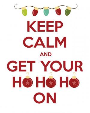Go Mama Monday: Christmas Printables!!