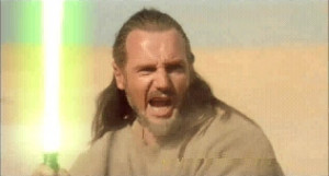 The following comes from the back of the Qui-Gon Jinn action figure ...