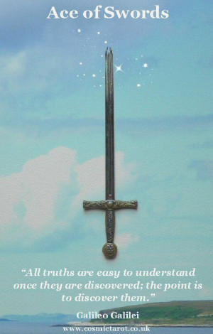 Ace of Swords, Tarot of Quotes