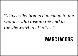 Quote from Marc Jacobs at Louis Vuitton Spring-Summer 2014 Fashion ...