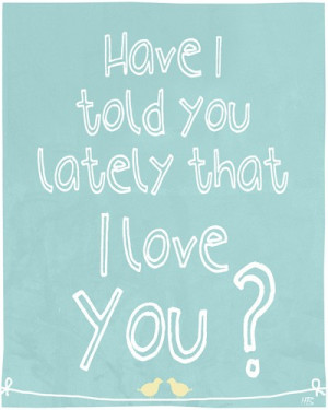 Love quote art print , emotional saying , room decor wall hanging, I ...