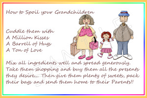Sayings For Grandparents Cards