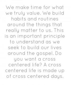 Mahaney, The Cross Centered Life