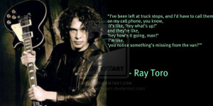 Ray Toro by ScarecrowPatient