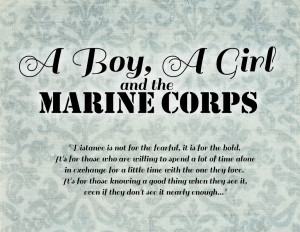Marine Corps Love Quotes