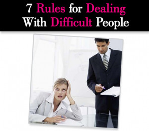 With Difficult People