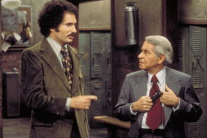 Still of Gabe Kaplan and John Sylvester White in Welcome Back, Kotter ...