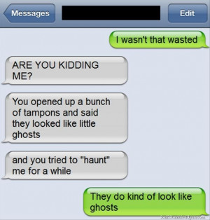 Funny Iphone Drunk Text Messages