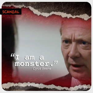 Scandal – Season 2 Top Five Cyrus Beene Quotes
