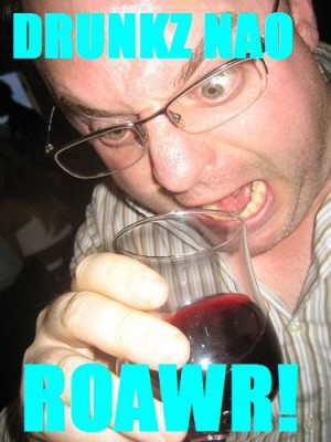Angry drunk Image