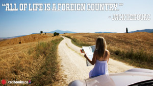 inspirational quotes about travelling from Jack Kerouac
