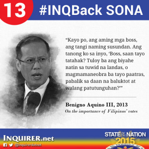 INQBack: Memorable quotes during past State of the Nation Addresses