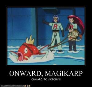 pokemon motivator onward magikarp