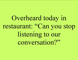 Funny Listening Quotes About