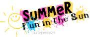 """Summer, Fun In The Sun """""""