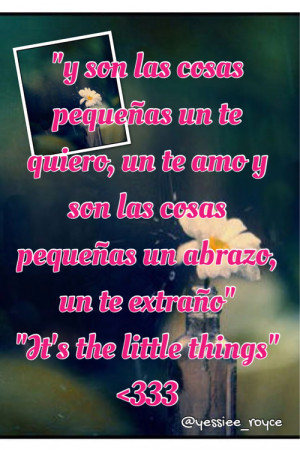 ... this image include: prince royce, little things, love, Lyrics and song