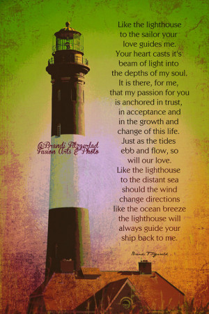 Lighthouse Guide Me. Fire Island Lighthouse Poem