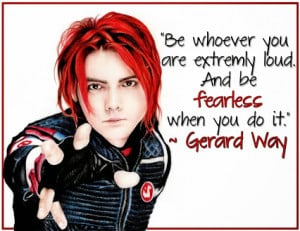 music saves lives originally shared gerard way my chemical romance ...