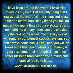 Quotes Ever Challenging Emotional Facebook Family