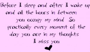 Miss You Baby Quotes