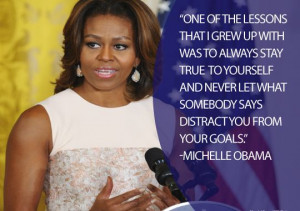 Before becoming the first African-American first lady, Michelle Obama ...