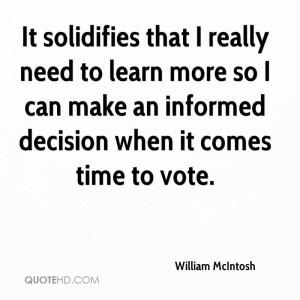 William McIntosh Quotes