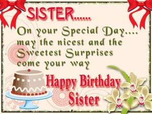 Sister Birthday Quotes, Sister Quotes, Birthday Quotes