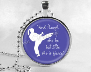 Karate Girl Quotes Karate Girl Necklace