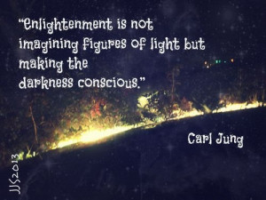 Enlightenment is not imaginging figures of light but making the ...
