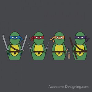 Awesome Designing.com › Portfolio › Teenage Mutant Ninja Turtles ...