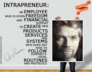 Richard Branson Quotes – Intrapreneur a definition