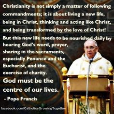 pope francis quote more catholic forever christian pope francis ...