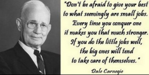 monday-quote-dale-carnegie-small-jobs
