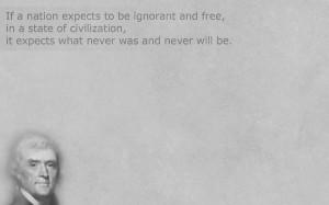 Thomas Jefferson Liberty quote by AbsntMindedArtst