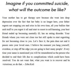 Suicide Quotes Funny. QuotesGram