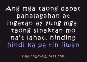 Famous Tagalog Quotes About Love
