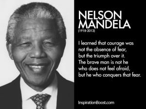 as i walked out quote by nelson mandela courage quote
