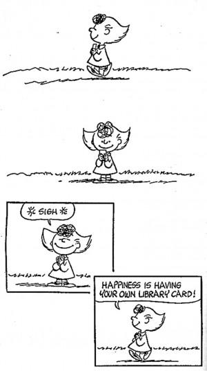 Having fun isn't hard, when you've got a library card. Peanuts