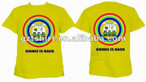 Advertising campaign t-shirt
